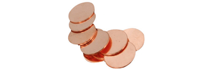 Copper Nickel Circles