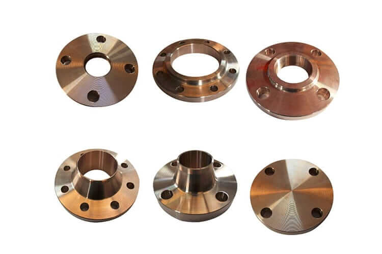 Cupro Nickel Industrial Flanges