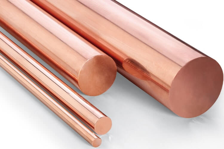 Cu-Ni 90/10 Round Bars, Copper Nickel 90/10 Round Bars, ASTM B151 Cupro  Nickel Bars and Rods, C70600 Rods Manufacturers & Suppliers