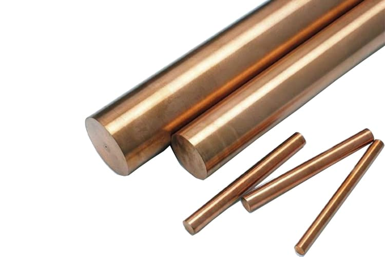 Cu ni round bars copper nickel