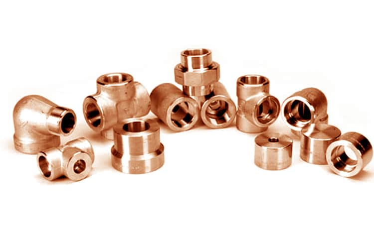 Cupro Nickel Forged Socket weld Fittings