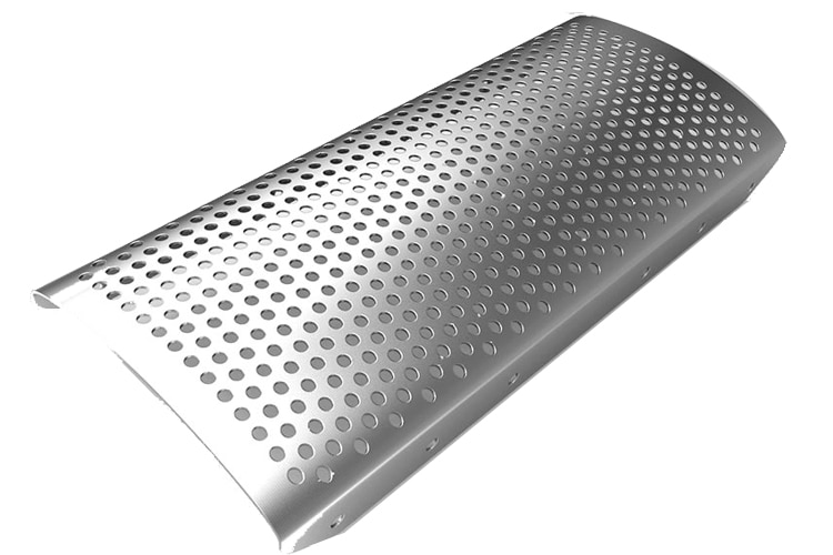 Perforated Round Hole Sheets