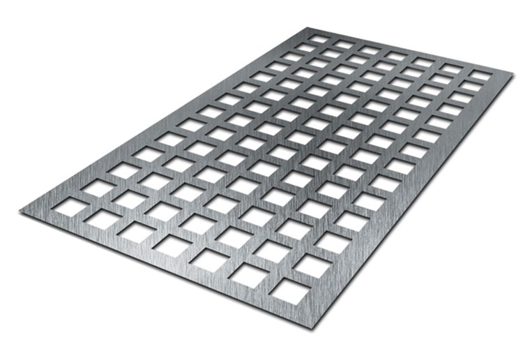 Perforated Square Hole Sheets
